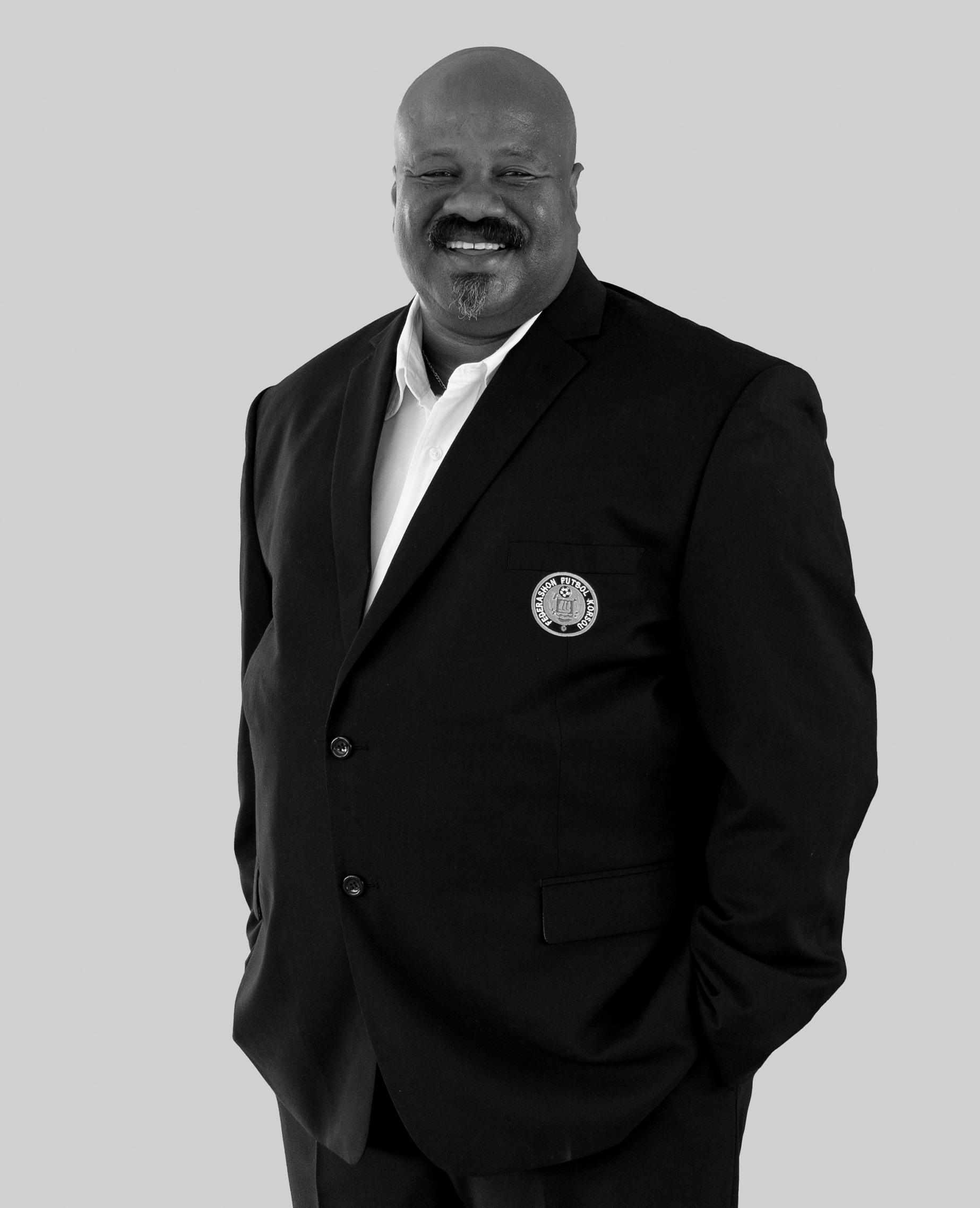 Urvin Faneijte, is a board member of Curacao Football Federation.