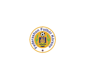 The official logo of the federashon futbol korsou logo.